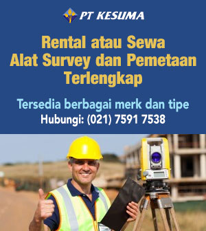 Rental Alat Survey Pemetaan